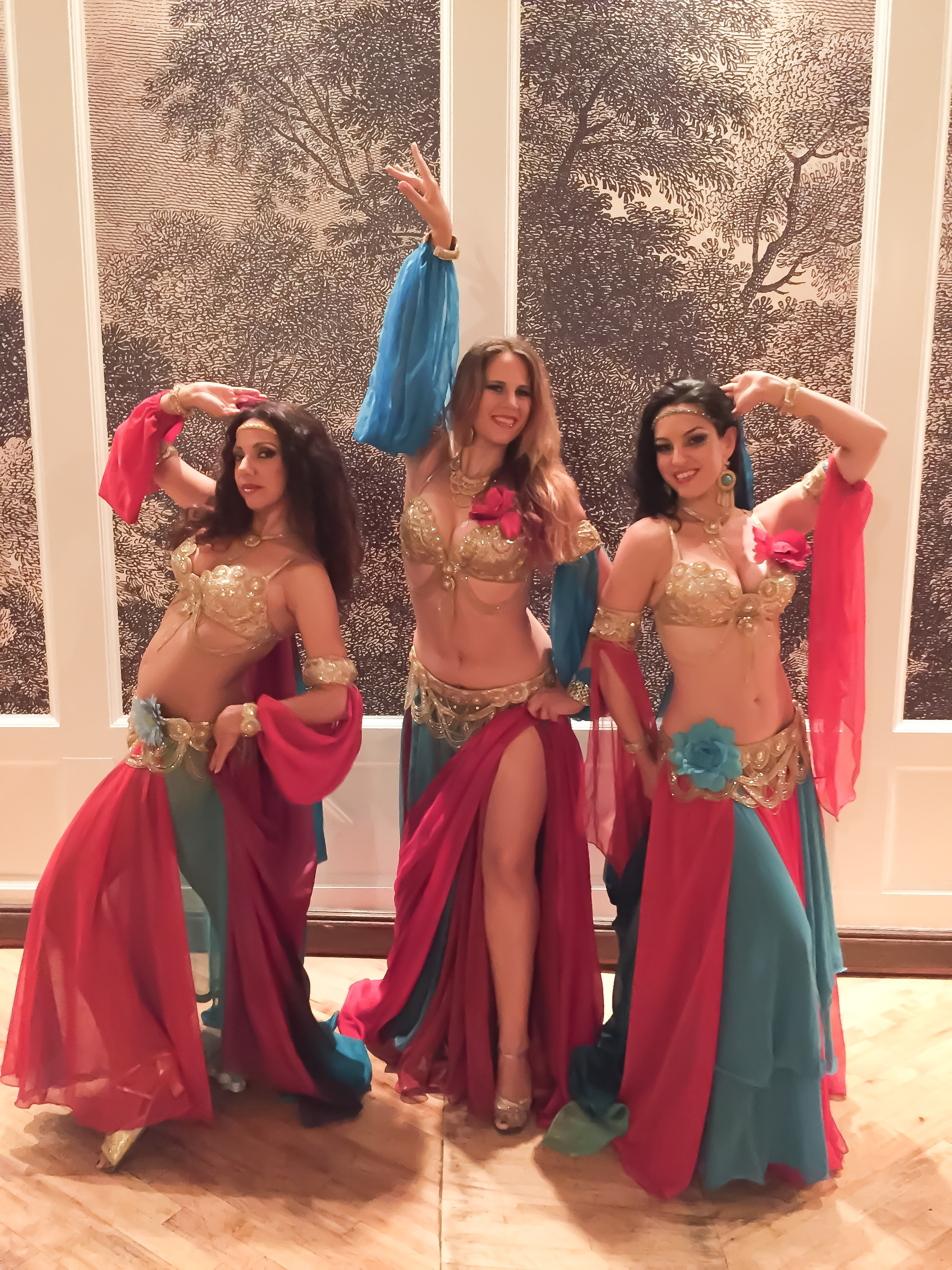 Mariyah and Infinity Bellydancers NYC - Wedding at Liberty Warehouse Brooklyn NY
