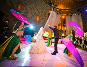 Belly Dancers NYC - Infinity Bellydance at Gotham Hall wedding