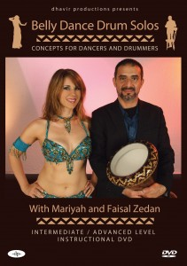 Belly dance drum solo instructional dvd