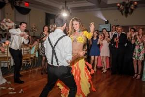 Hire Belly Dancer New York Mariyah- Wedding at Dyker Beach Golf Course Brooklyn, NY
