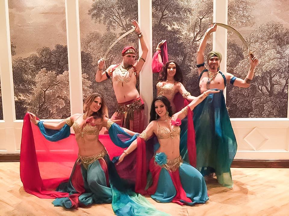 Mariyah and Infinity Bellydancers NYC - Wedding at Liberty Warehouse Brooklyn NY