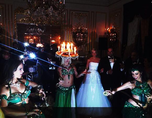 Mariyah and Infinity Belly Dancers - Wedding at St. Regis NYC