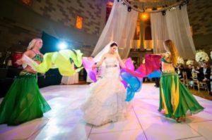 Infinity Bellydance Gotham Hall Wedding
